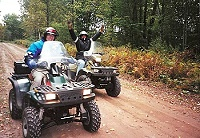 ATVing Watersmeet Michigan