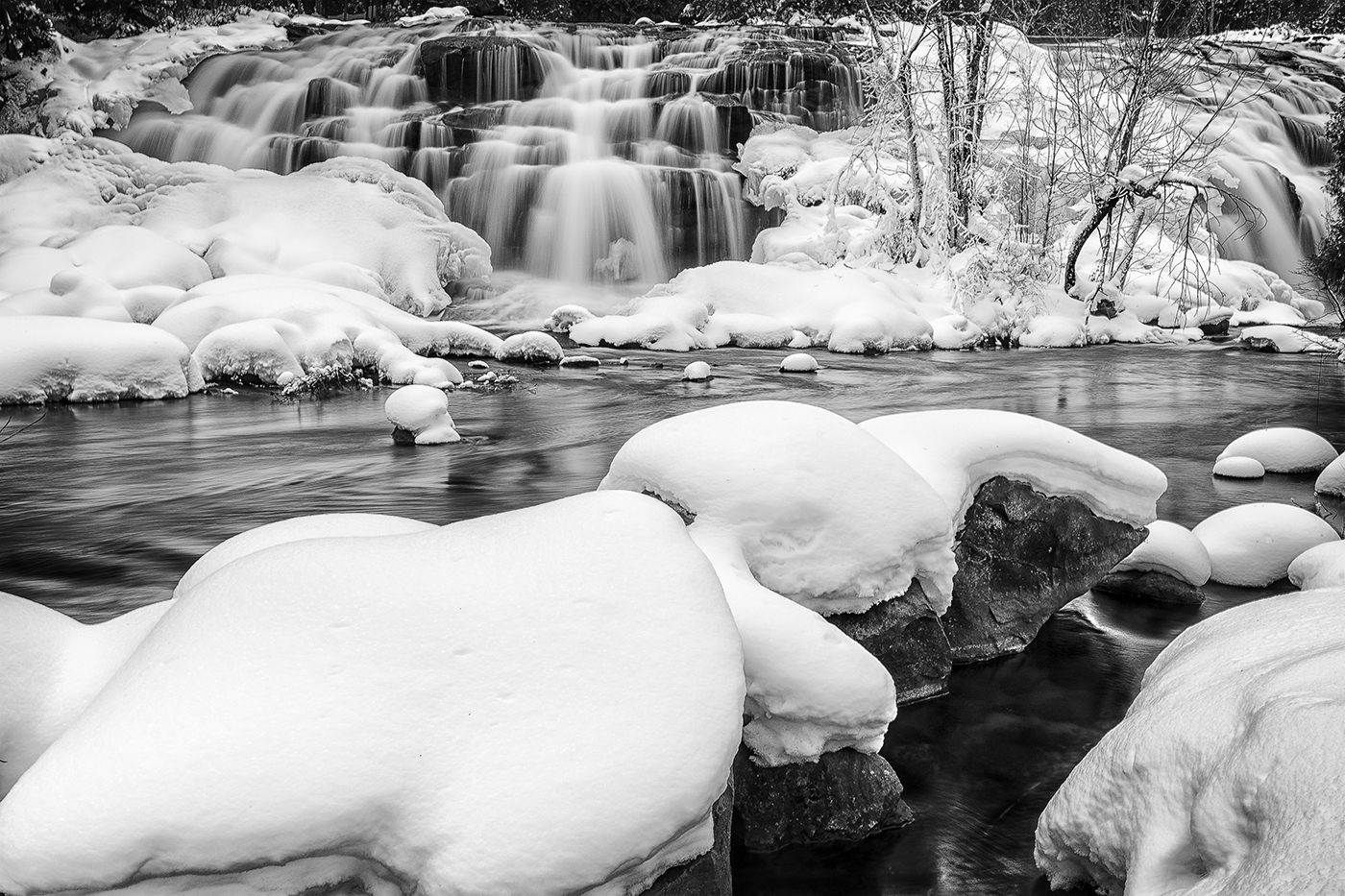 Bond Falls Winter