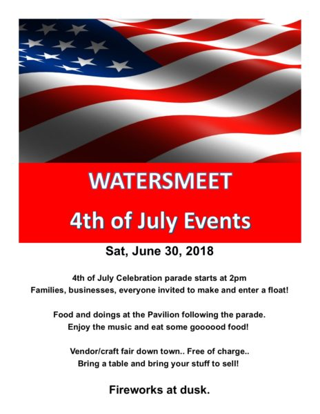 Watersmeet 4th of July Events