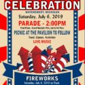 4th of July Celebration Announced! Note change to parade time.
